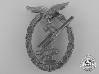 A Luftwaffe Flak (Anti-Aircraft) Badge by GWL