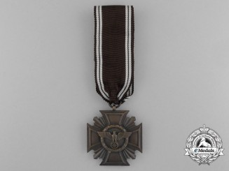 A NSDAP Bronze 10-Year (3rd Class) Long Service Award