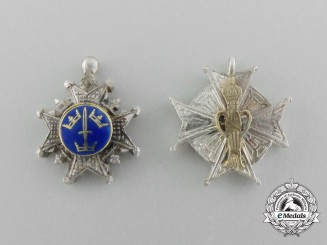 Sweden, Kingdom. Two Miniature Orders & Decorations