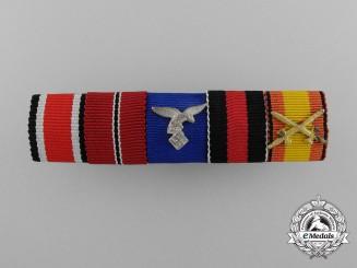 A Very Fine Luftwaffe Condor Legion Ribbon Bar