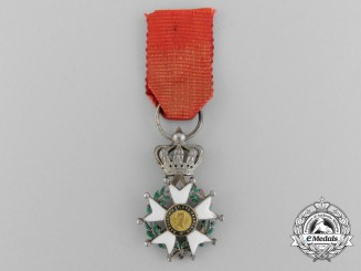 A Reduced Size French Legion D'Honneur; Knight 1852-1870