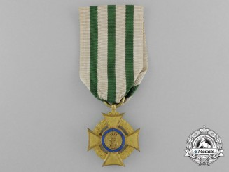 A Saxon Commemorative Cross for Medical and Humanitarian Service in Wartime; 1870-1871