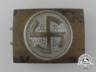 An Early SA/SS Enlisted Man's Belt Buckle