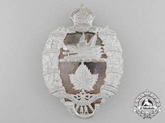 A Lorne Rifles (Scottish) Officer's Should Belt Plate