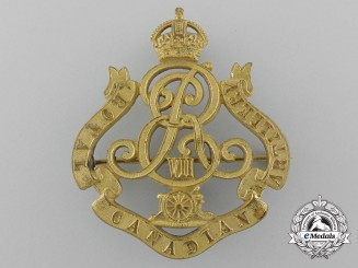A 1905 Edward VII Royal Canadian Artillery Officer's Badge by Gaunt