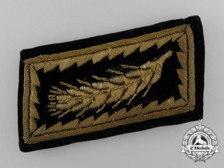 A Reich Labour Service General's Collar Tab