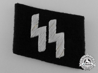 Germany, SS. A Waffen-SS Officer's Collar Tab
