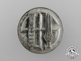Germany. An Silver Grade Honour Badge of the Reichsnährstand