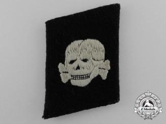 An Early Waffen-SS Totenkopf Collar Tab