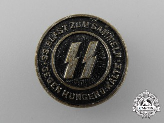 "An SS ""Sound the Horn to Assemble against Hunger and Frost"" Charity Badge"