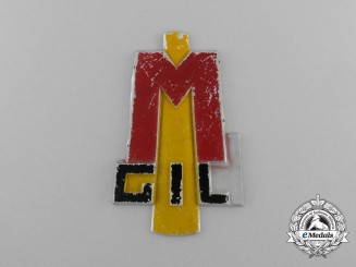 An Italian GIL (Gioventu Italiana del Littorio) Fascist Youth Sleeve Badge