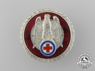 A Slovakian Red Cross Ten Years' Exemplary Service Badge
