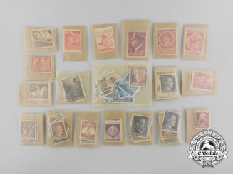 A Lot of 141 Veteran Bring Back German Stamps