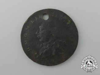 An 1820 King George III Commemorative Medal