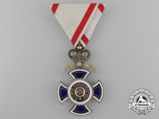 Montenegro, Kingdom. A Very Rare Russian Made Order of Danilo, by A.Romanov, c.1900