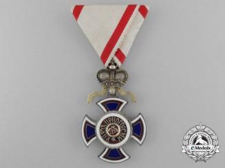 Montenegro, Kingdom. A Very Rare Russian Made Order of Danilo, by A.Romanov, c.1900