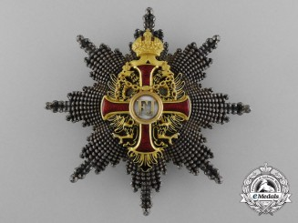 An Austrian Order of Franz Joseph; Commander's Breast Star by Vinc. Mayer