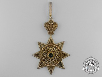 An Order of the Star of Ethiopia; Grand Cross Badge