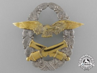 A Rare Czechoslovakian Air Force Balloon Pilot's Badge