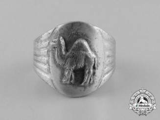 An Italian Second War North African Theatre Soldier's Ring