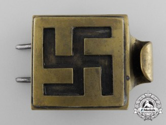 An Early NSDAP Youth Belt Buckle
