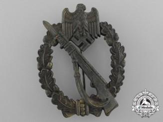 A Bronze Grade Infantry Assault Badge by Fritz Zimmermann und Söhne