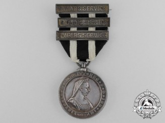A St.John Service Medal to Lady Superintendent Agnes C. Lines 1908