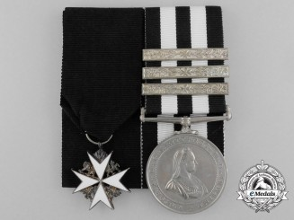 An Order of St. John Pair to A. O'Hare; St. John Ambulance Brigade 1954