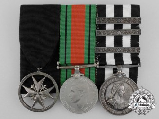 A Second War Order of St. John Group to Lady Ambulance Officer Margaret Joyce