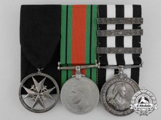 A Second War Order of St. John Group to Lady Ambulance Officer Margaret Joyce