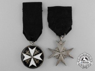 Two Order of St. John Awards