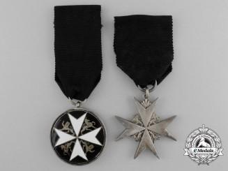 Two Order of St. John Awards