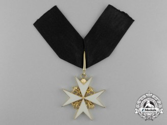 An Order of St. John Knight/Dame of Justice Neck Badge
