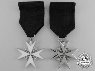Two Order of St. John Badges