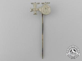 A Wehrmacht Miniature Long Service Award Stickpin
