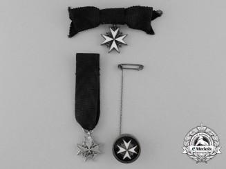 Three Miniature Order of St.John
