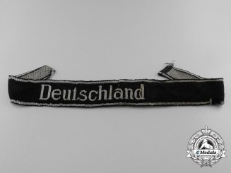 A  Waffen-SS Deutschland Officer's Cufftitle