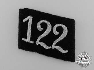 An Officer's Allgemeine-SS 112th Foot Regiment Collar Tab