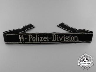 "A Scarce EM/NCO ""SS-Polizei-Division."" Cufftitle"