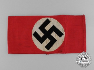 "An Early NSDAP Members Armband, ""BeVo Barmen Ges. Gesch."""
