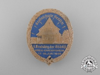 A 1939 NSDAP Seesen District Council Day Badge