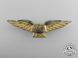 A Rare Royal Flying Corps Air Instructor School Wings; Canada