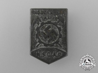 A 1938 NSDAP Day of German Labour Badge