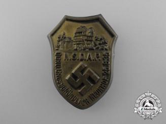 A 1935 NSDAP District Grossgründlach Neunhof District Day Badge