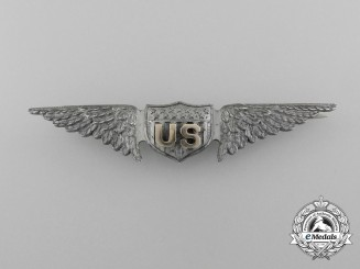 A United States Army Air Service Aviator Pilot Badge (1918-1926)