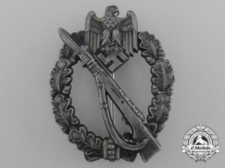 A Silver Grade Infantry Assault Badge by Josef Feix & Söhne