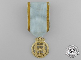 A Swedish King Oscar and Queen Sofia Golden Wedding Anniversary Medal 1907