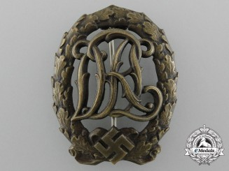 A Bronze Grade NSRL Sport Badge by Christian Lauer