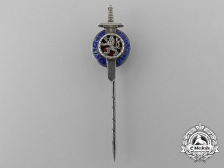 A Second War Czech Military Order of the White Lion Stickpin