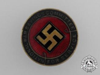 A First War British National War Savings Committee Badge